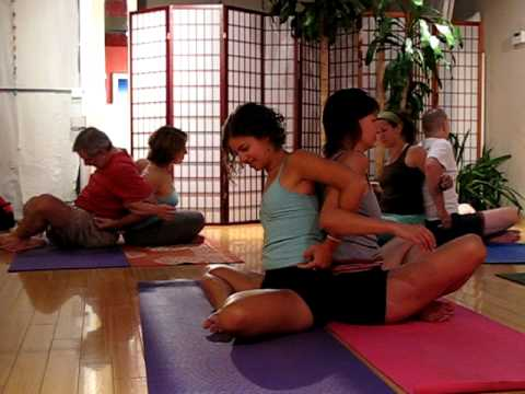 Couples Yoga Poses for Lovers or Friends - http://www.synergybyjasmine.com