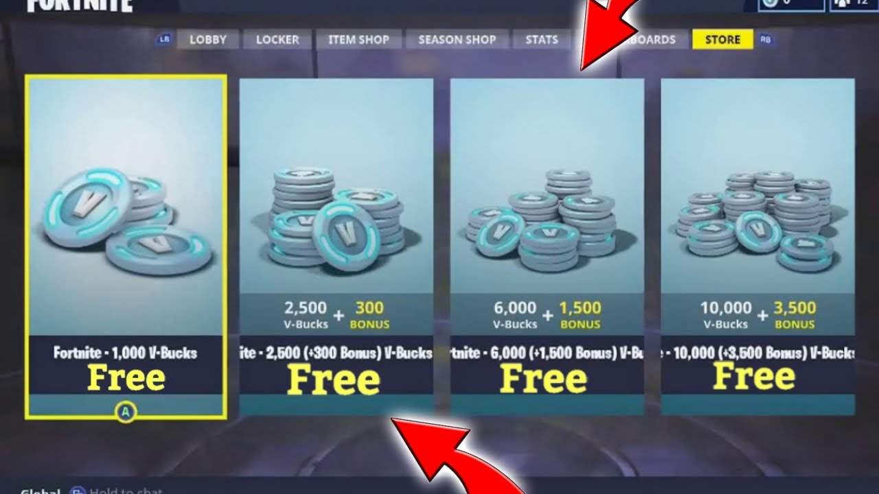How To Get Free V Bucks Coins In Fortnite 2018 (Working Tutorial) (PS4/Xbox)