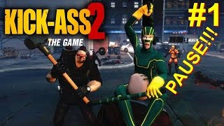 Kick-Ass 2 PS3 Gameplay (Worst SuperHero Game EVER!)