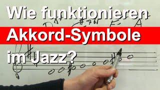 Wie funktionieren Akkord Symbole? - Teil 2 - Saxophon-Improvisation lernen