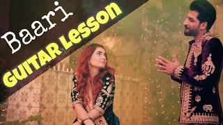 Baari by Bilal Saeed and Momina Mustehsan   Guitar Lesson   Latest Punjabi Song 2019