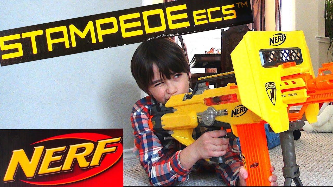 Robert Andre S Nerf N Strike Stampede Ecs Blaster Youtube