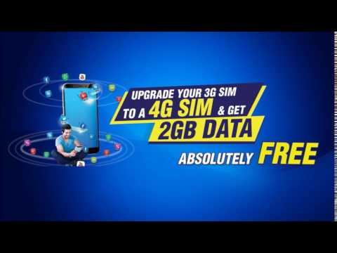 Upgrade your SIM to 4G and get 2GB FREE from Mobitel