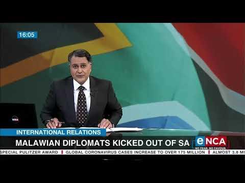 Malawian Diplomats kicked out of SA