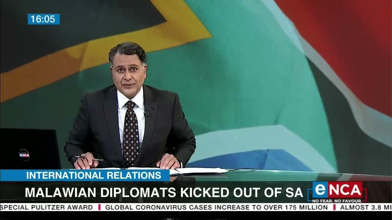 Malawian Diplomats kicked out of SA - eNCA