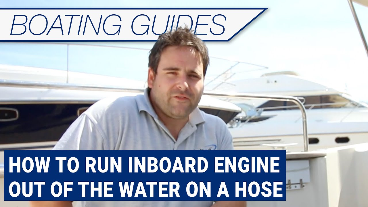 Jet boat water hook up