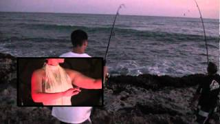 Fishing After Sunset in Ewa Beach and Mokulea Oahu, Hawaii 2012.mpg