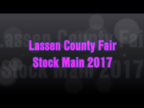 Lassen County Fair Stock Main 2017