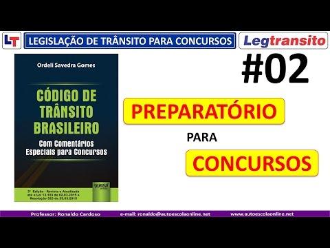 CTB Capitulo I - Disposições Preliminares - Legislação de Trânsito para Concursos