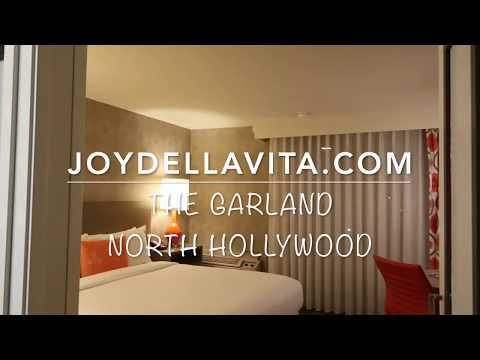 The Garland North Hollywood Los Angeles Hotel Room Tour   JoyDellaVita Travelblog