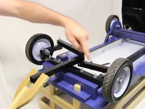 Build A Homemade Kids Pull Wagon Radio Flyer Style With