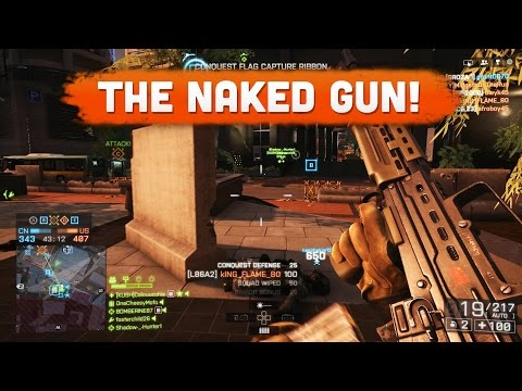 THE NAKED GUN! - Battlefield 4