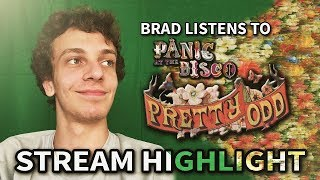 "Brad Taste in Music & Adara listens/reacts to Panic!'s ""Pretty. Odd."" [STREAM HIGHLIGHTS] thumbnail"