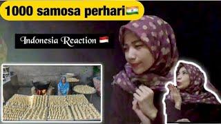 1000 SAMOSA INDIAN RECIPE - STREET FOODS - REACTION
