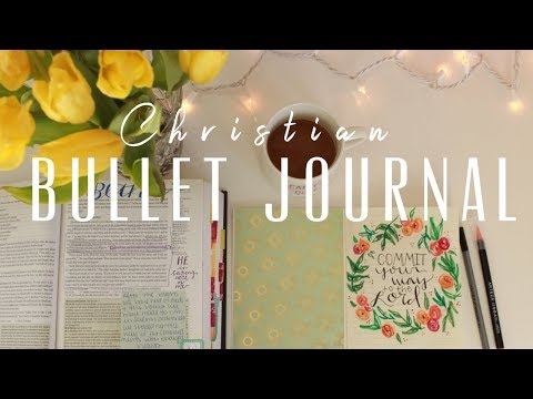 HOW TO create a Christian BULLET JOURNAL