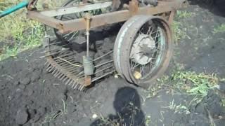 Картофелекопалка для трактора своими руками