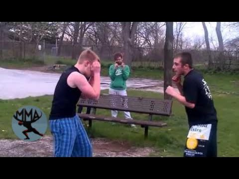 MMA&Boxing | Bare knuckle mma fighter vs boxer