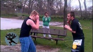 MMA&Boxing | Bare knuckle mma fighter vs boxer