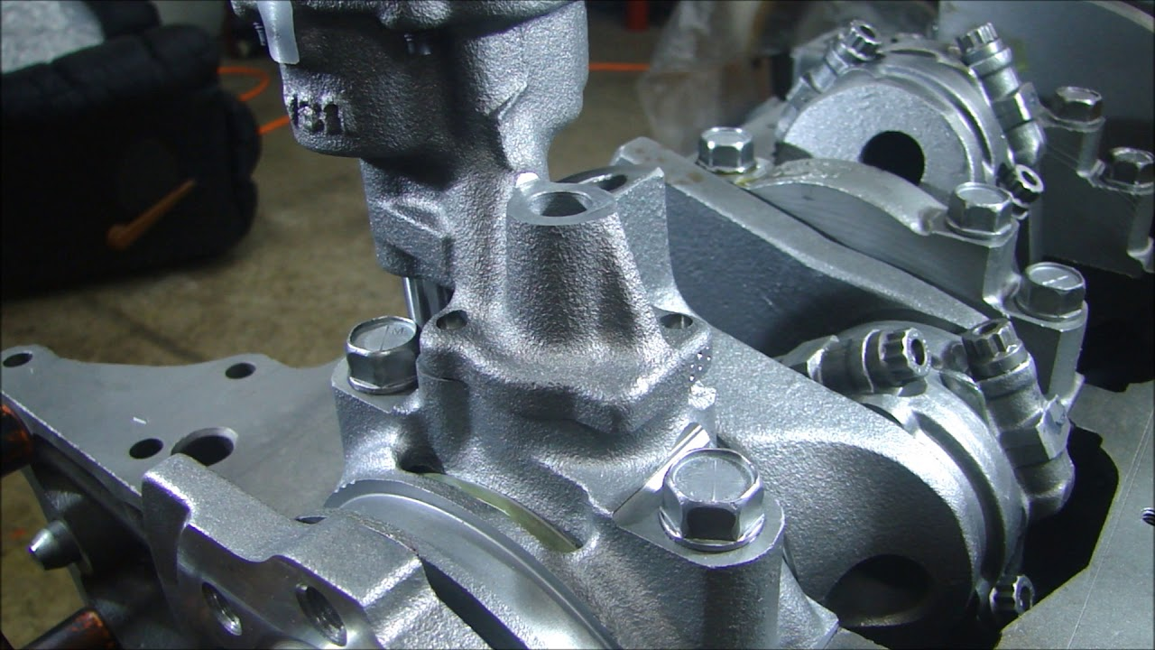 hight resolution of engine building part 4 installing the oil pump and setting the pickup depth small block chevy 350