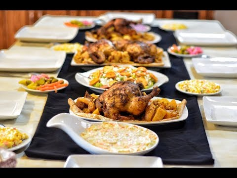 5128653a6 اقتراح سفرة 7 لعزومة فخمة أو سفرة رمضانية - YouTube