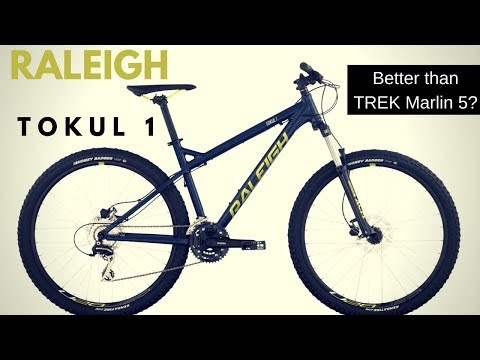 Raleigh Tokul 1 Mountain bike - Is it a better value than the Trek Marlin 5?