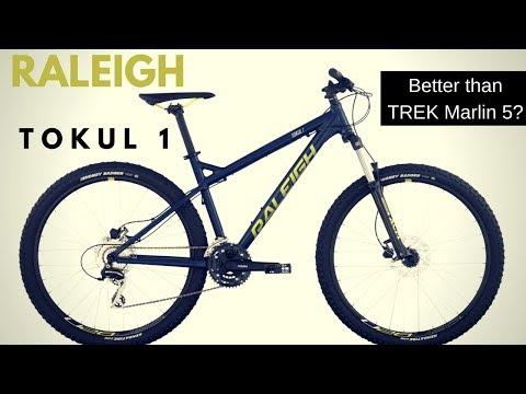 Raleigh Tokul 1 Mountain Bike - Is It A Better Value Than The Trek Marlin 5?