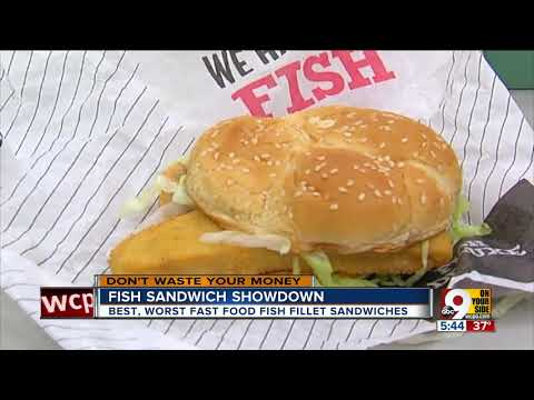 Which Drive-thru Has The Best Fish Sandwich?
