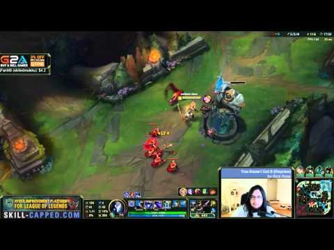 Imaqtpie - Kindred/Tahm Kench vs Jinx/Blitzcrank «Beast» (Ranked Gameplay)
