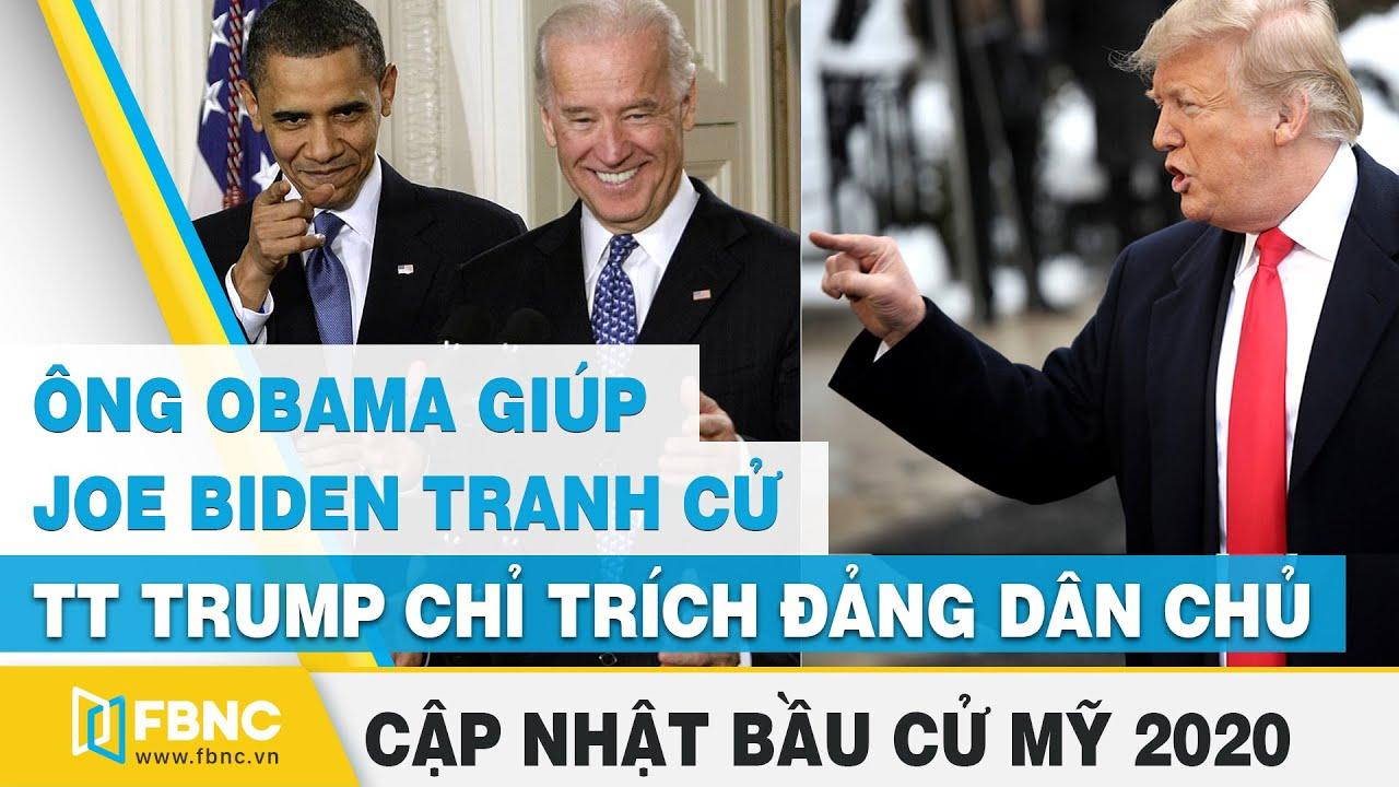 Tin tức bầu cử Mỹ | TT Trump gián tiếp chỉ trích ông Joe Biden và ông Obama | FBNC