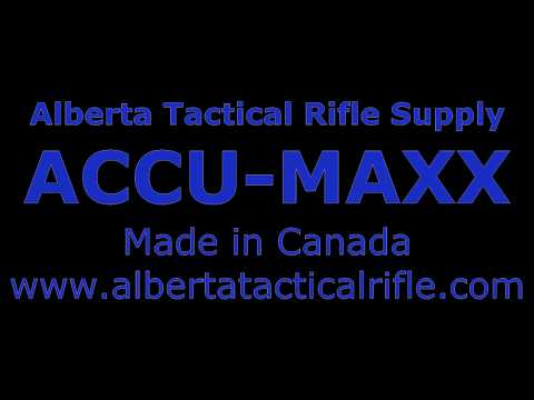 Accu Maxx by Alberta Tactical Rifle Supply
