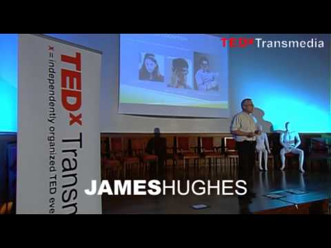 Radical mindfulness: James Hughes at TEDxTransmedia 2013