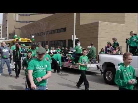 Cincinnati St. Patrick's Day Parade 2013 Part I