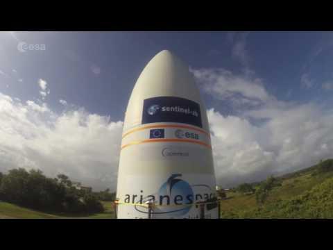 Sentinel-2B prepared for liftoff