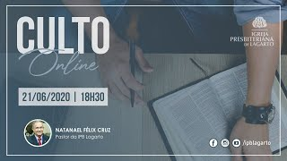 Culto online | 21/06/2020