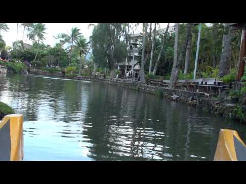 Hawaii: Polynesian Culture Center Boat Ride