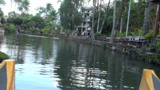 Hawaii: Polynesian Culture Center Boat Ride