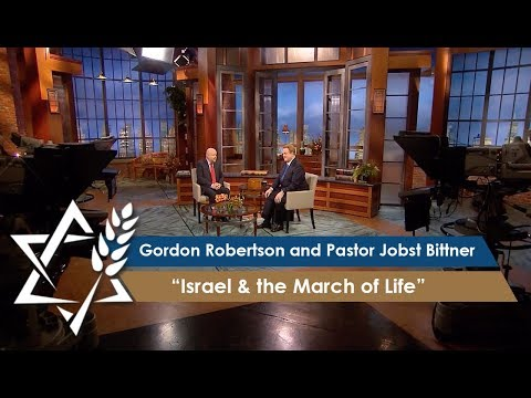 Gordon Robertson and Pastor Jobst Bittner | Israel & the March of Life