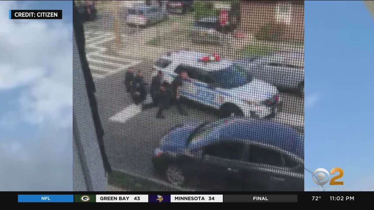 NYPD Officers Shot At While Responding To Domestic Incident In Queens