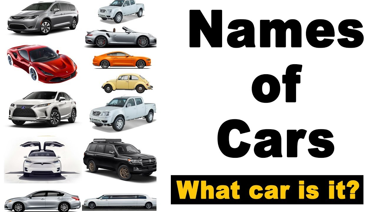 Types Of Cars What Car Is It Youtube