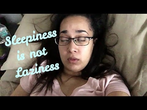 😴Sleepiness is NOT 😰Laziness-Spoonie🥄 Day. 10/29/2017