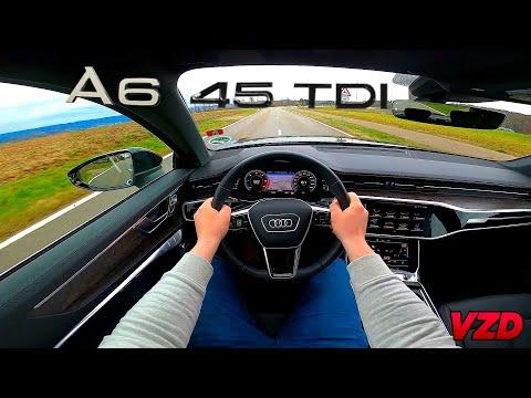 2020 Audi A6 45 TDI Quattro - POV Drive (60FPS) | VZ Driving