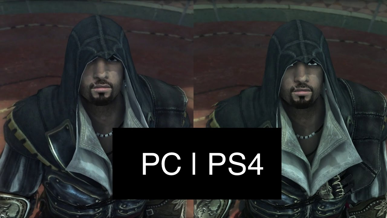 Assassin S Creed Brotherhood Intro Graphics Comparison Pc Vs