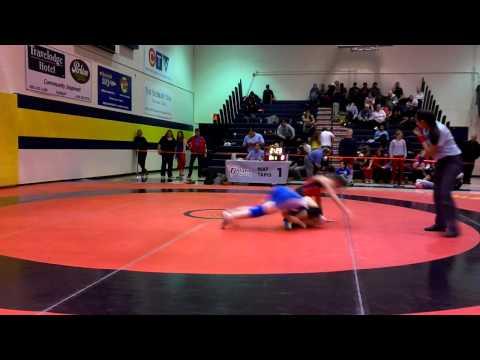 2014 Ontario Juvenile Championships: 49 kg Jessica Waltner vs. Rhiannon Digweed
