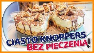 Ciasto bez pieczenia - KNOPPERS - cudownie chrupiące z pysznym kremem