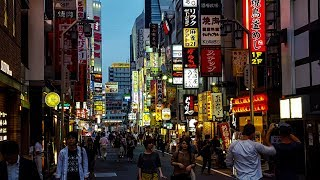 Tokyo, lights, People, Places