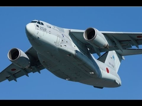 Japan's Kawasaki C 2 Air  long range, high speed military transport aircraft