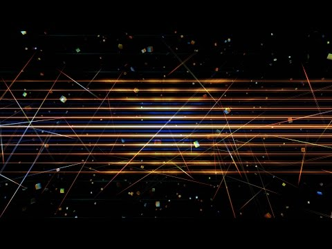 4K Hi-Tech Hypnotic Techno Colorful Animation HD UHD Background