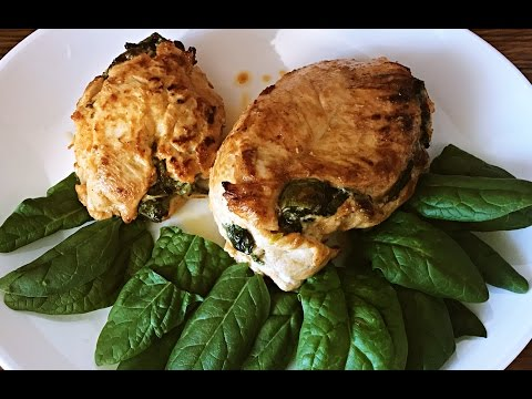 Chicken With Spinach And Sun Dried Tomatoes   Easy Cooking