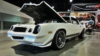 Chevy Camaro z28 at Dub Show Atlanta 2012