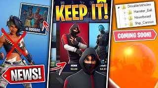 Keep FREE Ikonik Skin, New Vehicle Next Week, Secret Change, Statues & More! (Fortnite News)